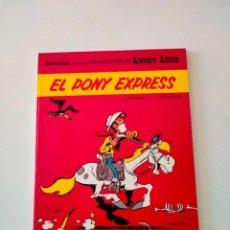 Cómics: LUCKY LUKE NÚMERO 40 EL PONY EXPRESS GRIJALBO-DARGAUD 1989. Lote 289841198