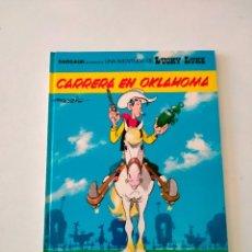 Cómics: LUCKY LUKE NÚMERO 39 CARRERA EN OKLAHOMA GRIJALBO-DARGAUD 1989. Lote 289842333