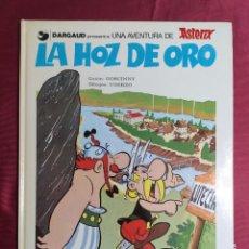 Cómics: UNA AVENTURA ASTERIX. Nº 3. LA HOZ DE ORO. GRIJALBO. 1981. Lote 289913613