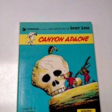 Cómics: LUCKY LUKE NÚMERO 17 CANYON APACHE GRIJALBO-DARGAUD AÑO 1982. Lote 290563003