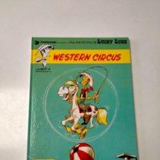 Cómics: LUCKY LUKE NÚMERO 15 WESTERN CIRCUS GRIJALBO-DARGAUD AÑO 1991. Lote 290563888