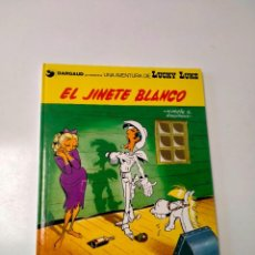 Cómics: LUCKY LUKE NÚMERO 2 EL JINETE BLANCO GRIJALBO-DARGAUD AÑO 1982. Lote 290572708