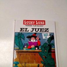 Cómics: LUCKY LUKE NÚMERO 4 EL JUEZ EDITORIAL PLANETA AÑO 2005. Lote 290574178