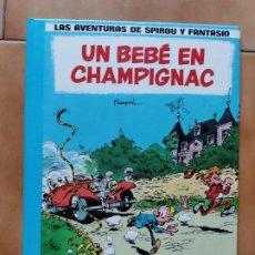 Cómics: LAS AVENTURAS DE SPIROU Y FANTASIO Nº 15 UN BEBÉ EN CHAMPIGNAC - FRANQUIN GRIJALBO JUNIOR. Lote 290825653