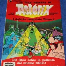 Comics: LAS DOCE PRUEBAS DE ASTERIX - DARGAUD - GRIJALBO (1987). Lote 291310173