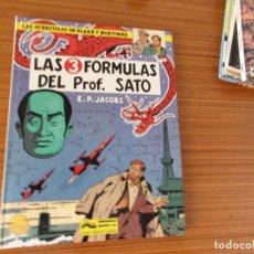 Cómics: LAS AVENTURAS DE BLAKE Y MORTIMER Nº LAS 3 FORMULAS DEL PROF SATO EDITA JUNIOR. Lote 292045203
