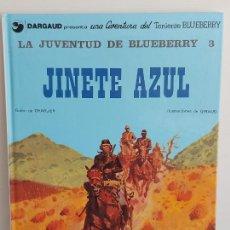 Cómics: LA JUVENTUD DE BLUEBERRY / 14 / PART 3 / JINETE AZUL / TAPA DURA / MUY BUEN ESTADO.. Lote 292542408