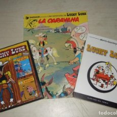 Fumetti: LOTE DOS COMIC LUKY LUKE + DVD. Lote 292614408