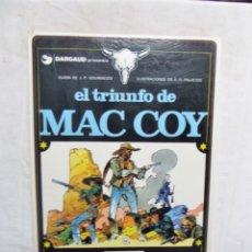 Cómics: EL TRIUNFO DE MAC COY. Lote 293239563
