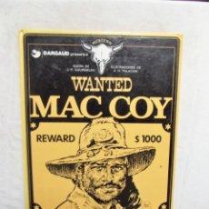 Cómics: WANTED MAC COY. Lote 293239828