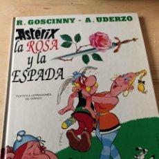 Cómics: ASTÉRIX. LA ROSA Y LA ESPADA. Lote 293249293