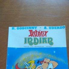 Cómics: COMIC EN EUSKERA ASTERIX INDIAN EDITORIAL GRIJALBO, NUMERO 5 AÑO 1987 BUEN ESTADO. Lote 293345088
