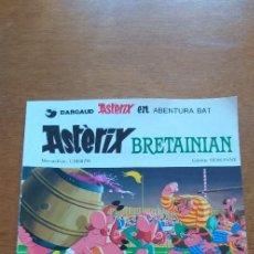 Cómics: COMIC EN EUSKERA ASTERIX BRETAINIAN EDITORIAL GRIJALBO, NUMERO 3 AÑO 1981 BUEN ESTADO. Lote 293345523