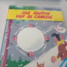 Cómics: LUCKY LUKE - LOS DALTON VAN AL CANADÁ - EDICIONES GRIJALBO / DARGAUD 1971. REF. UR MES. Lote 293366268