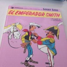 Cómics: LUCKY LUKE. EL EMPERADOR SMITH EDICIONES JUNIOR 1976 . REF. UR MES. Lote 293367593