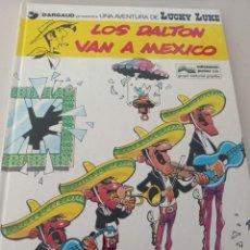 Cómics: LUCKY LUKE 8 LOS DALTON VAN A MEXICO 1978 JUNIOR REF. UR MES. Lote 293371798