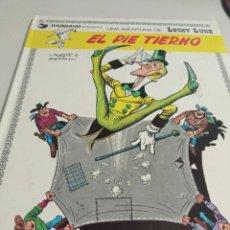 Cómics: LUCKY LUKE - EL PIE TIERNO - JUNIOR GRIJALBO 1ª EDICIÓN 1977 . REF. UR MES. Lote 293485683
