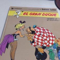 Cómics: LUCKY LUKE - EL GRAN DUQUE - 1977 -GRIJALBO / DARGAUD - EDICIONES JUNIOR . REF. UR MES. Lote 293489683