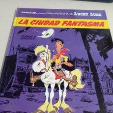 Fumetti: LUCKY LUKE - GRIJALBO / DARGAUD - Nº 38 LA CIUDAD FANTASMA REF. UR MES. Lote 293553773