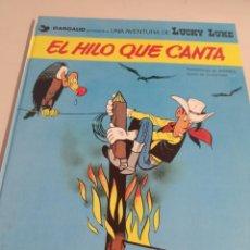 Cómics: LUCKY LUKE - JUNIOR / GRIJALBO EL HILO QUE CANTA REF. UR MES. Lote 293554428