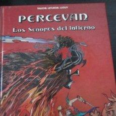 Cómics: PERCEVAN--LOS SEÑORES DEL INFIERNO. Lote 293759143