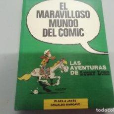 Cómics: MARAVILLOSO MUNDO DEL CÓMIC - LUCKY LUKE - PETRÓLEO CIUDAD FANTASMA PONY EXPRÉS... - PLAZA JANÉS. Lote 293764943