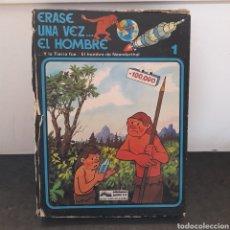 Cómics: COLECCION ERASE UNA VEZ EL HOMBRE. COMPLETA. 13 COMICS. EDICIONES JUNIOR. GRIJALBO. Lote 294030603