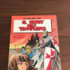 Cómics: EL SECRET DELS TEMPLERS, EL CLUB DELS CINC, RÚSTICA, EN CATALÀ, EDITORIAL GRIJALBO. Lote 294050583