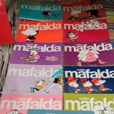 Cómics: MAFALDA. OBRA COMPLETA: 11 TOMOS. LUMEN. Lote 294067188