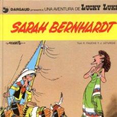Cómics: LUCKY LUKE Nº 23 - SARAH BERNHARDT - GRIJALBO 1983 - EDICIÓN EN CATALÁN. Lote 6634113