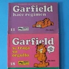 Cómics: LOTE CÓMICS GARFIELD - 11, 18 Y 24 - EDICIONES JUNIOR. Lote 294087873