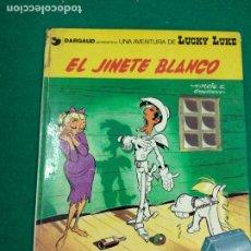 Cómics: LUCKY LUKE Nº 2. EL JINETE BLANCO. MORRIS & GOSCINNY. GRIJALBO DARGAUD 1977.. Lote 295020658
