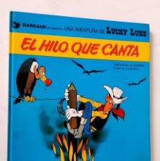 Cómics: LUCKY LUKE - EL HILO QUE CANTA - JUNIOR / GRIJALBO - 1979 - COMO NUEVO. Lote 295638863