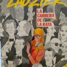 Cómics: LAUZIER. NÚMERO 5..LA CARRERA DE LA RATA..AÑO1985..GRIJALBO DARGAUD.. Lote 295688828