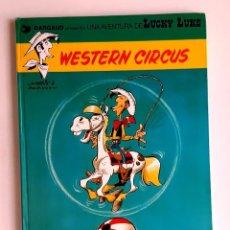 Cómics: LUCKY LUKE - WESTERN CIRCUS - JUNIOR / GRIJALBO - 1979 - TAPA DURA. Lote 295735498
