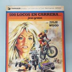 Cómics: 500 LOCOS EN CARRERA CON JULIE WOOD (JEAN GRATON) HERMANOS WOOD Nº 3 JUNIOR GRIJALBO ED. 1977. Lote 295918723