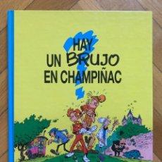 Cómics: SPIROU Y FANTASIO Nº 1: HAY UN BRUJO EN CHAMPIÑAC - EXCELENTE ESTADO - D1. Lote 297021998