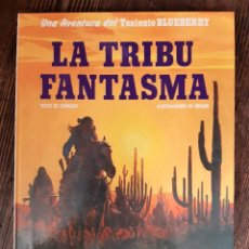Cómics: BLUEBERRY - LA TRIBU FANTASMA (CHARLIER / GIRAUD MOEBIUS). Lote 297093583