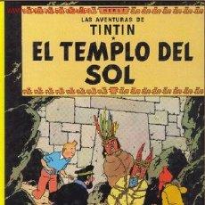 Cómics: TINTIN EN EL TEMPLO DEL SOL. Lote 27352772