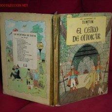 Cómics: TINTIN. EL CETRO DE OTTOKAR ( 2ª EDICION ). Lote 15810775