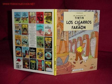 TINTIN. LOS CIGARROS DEL FARAON ( 12ª EDICION) (Tebeos y Comics - Juventud - Tintín)