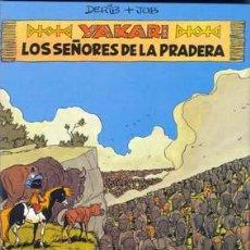 Cómics: YAKARI NUMERO 13 LOS SEÑORES DE LA PRADERA POR DERIB Y JOB. Lote 26518272