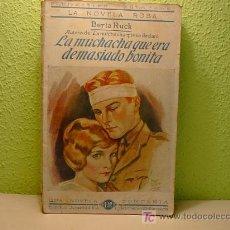 Cómics: LA NOVELA ROSA, LA MUCHACHA QUE ERA DEMASIADO BONITA, ED. JUVENTUD.Nº 44, 1925. Lote 6896073
