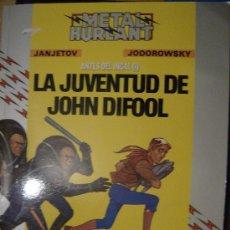 Cómics: LA JUVENTUD DE JOHN DIFOOL. EUROCOMIC, 1988. JODOROWSKY Y JANJETOV.. Lote 7022109