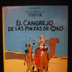 Cómics: TINTIN. EL CANGREJO DE LAS PINZAS SDE ORO. ED. JUVENTUD. 1979. Lote 26924902