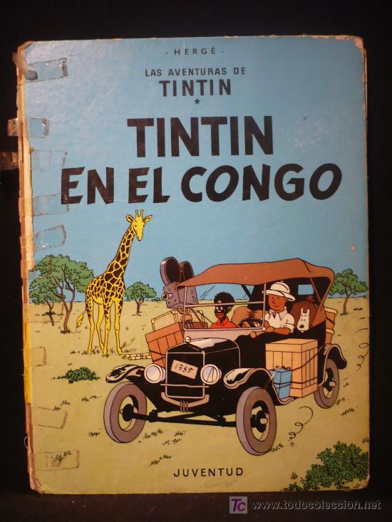 TINTIN. EN EL CONGO. ED. JUVENTUD. 1983 (Tebeos y Comics - Juventud - Tintín)