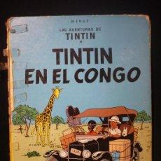 Cómics: TINTIN. EN EL CONGO. ED. JUVENTUD. 1983. Lote 26924901