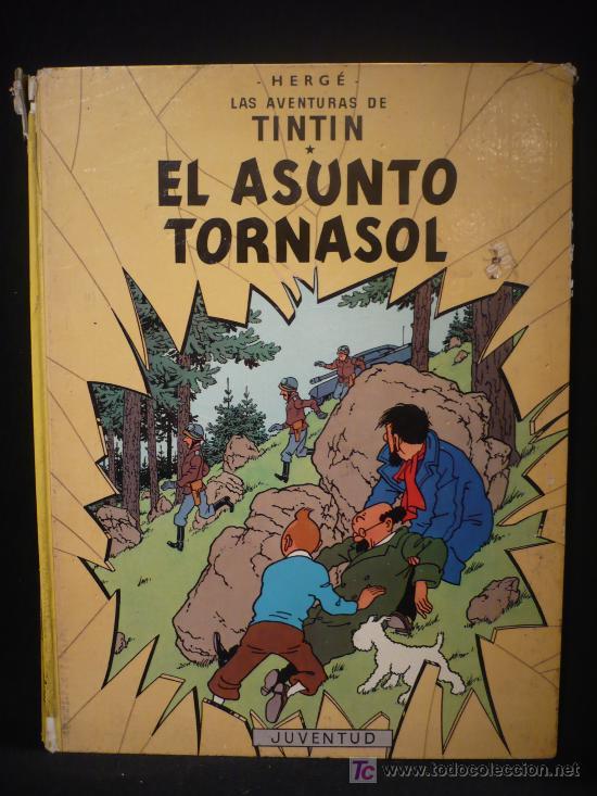 TINTIN. EL ASUNTO TORNASOL. ED. JUVENTUD. 1979 (Tebeos y Comics - Juventud - Tintín)