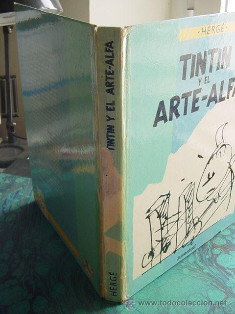 Cómics: TINTIN Y EL ARTE ALFA (JUVENTUD) - Foto 3 - 27071095