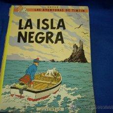 Cómics: TINTIN - LA ISLA NEGRA - JUVENTUD - 1983 - 8ª EDICIÓN. Lote 21028195